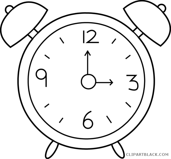 Clock clipart black and white svg transparent stock Clock clipart black and white 2 » Clipart Station svg transparent stock