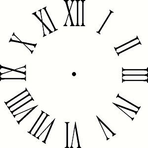 Clock clipart black and white numerals clip art black and white download Image result for picture of clock with roman numerals | ART | Clock ... clip art black and white download