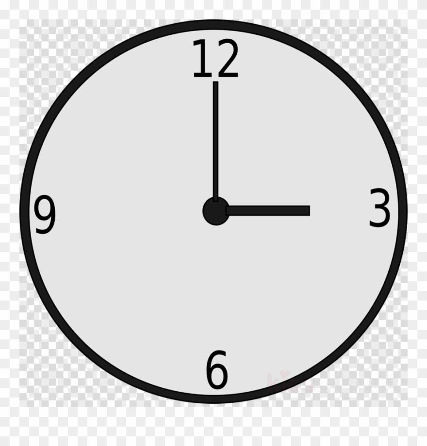 Clock clipart vector jpg black and white Download Wall Clock Vector Png Clipart Clock Clip Art - Wall Clock ... jpg black and white