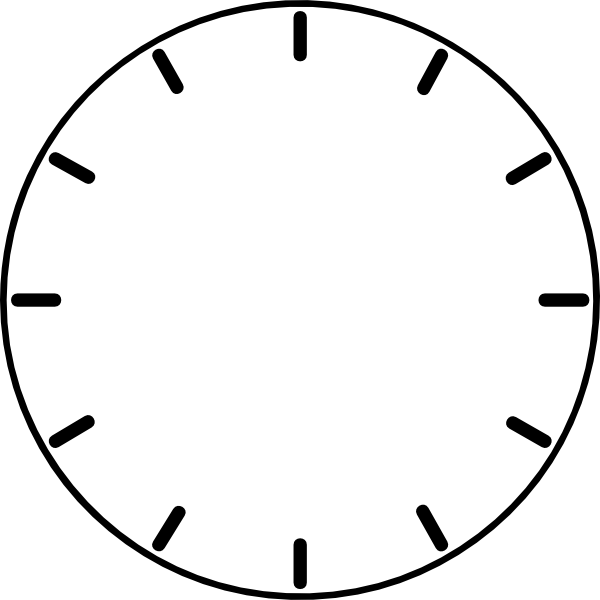 Clock clipart with no hands. Face clip art at