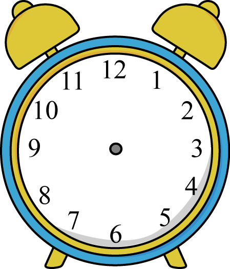 Clipartfest alarm without. Clock clipart with no hands