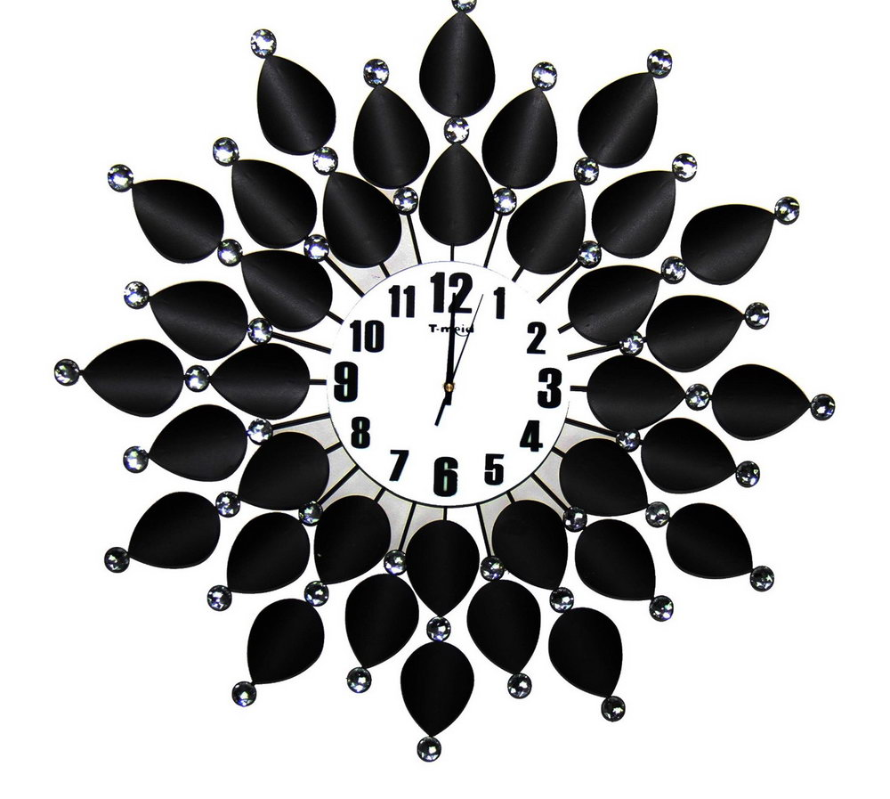 Clock design clipart vector free download Wall Clock Clipart Black And White | Home Design Ideas vector free download