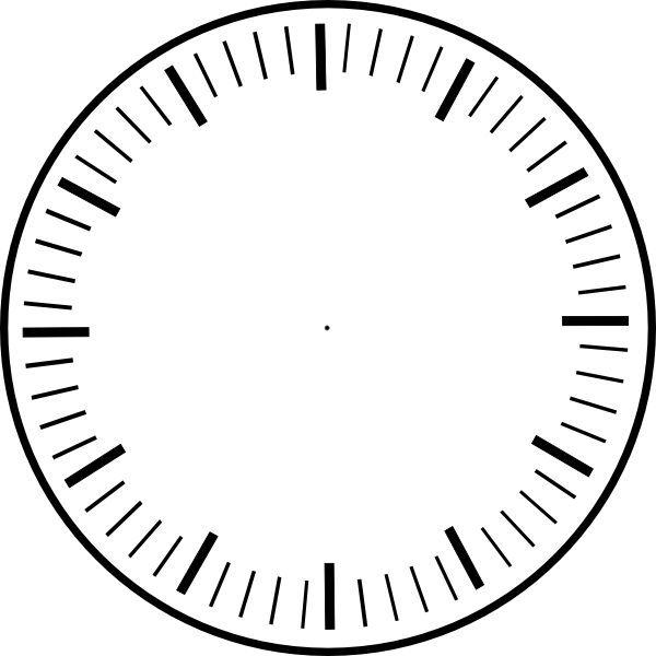 Clock face template clipart vector library stock Clock Face Printable | Clock Faces ... - ClipArt Best - ClipArt Best ... vector library stock