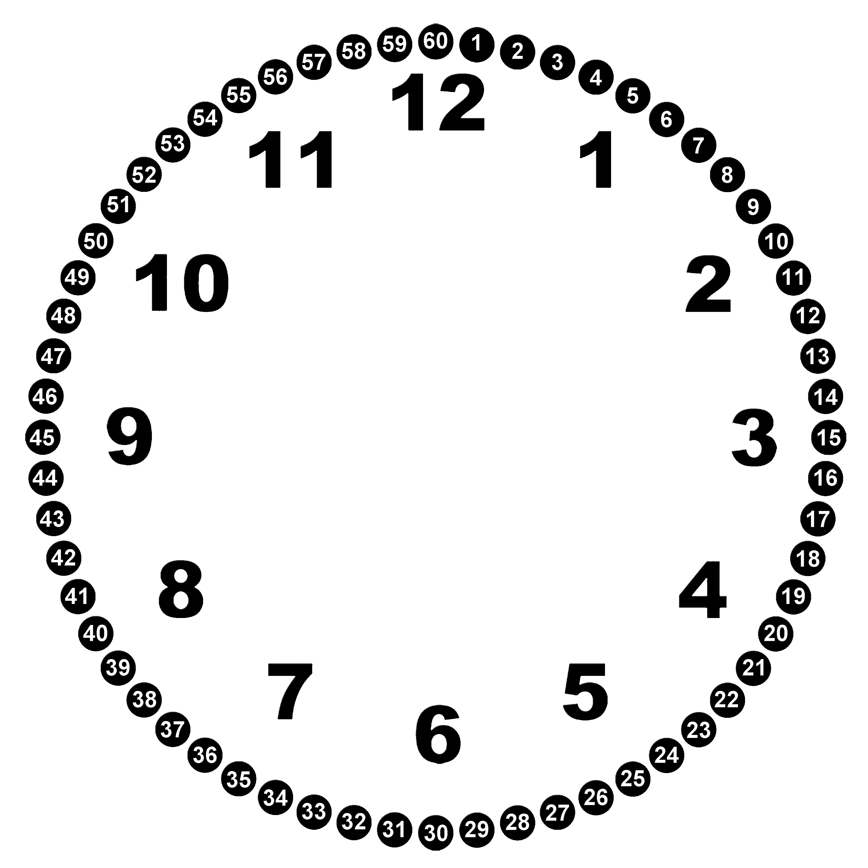 Clock face template clipart jpg download Free Blank Clock Face Printable, Download Free Clip Art, Free Clip ... jpg download