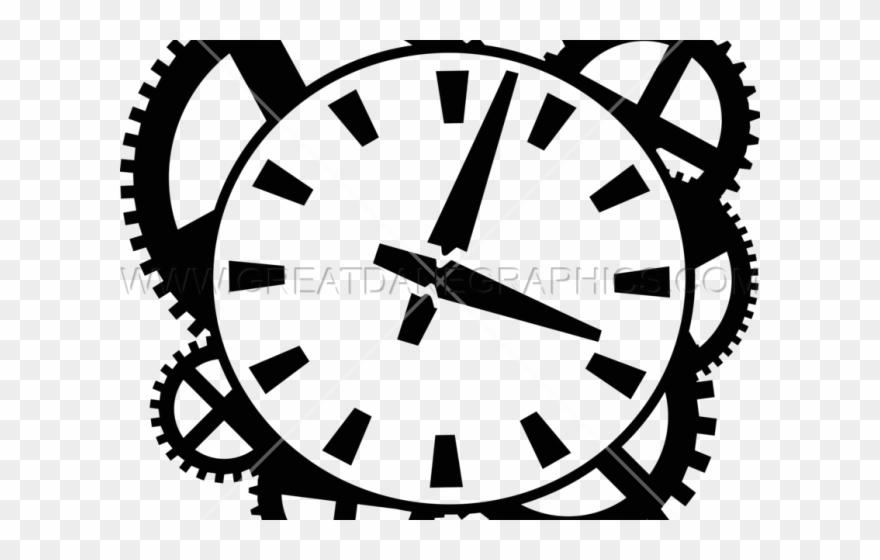 Clock gears clipart
