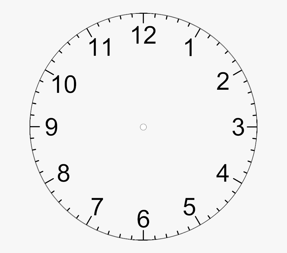 Library Of Clock Numbers Svg Free Library Png Files