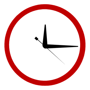 Clock with arrow clipart. Wall cliparts of free