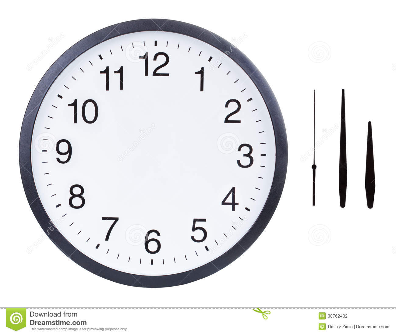 Clock with no hands clipart vector black and white library Analog clock clipart with no hands - ClipartFox vector black and white library