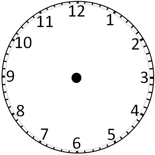 Clock with no hands clipart clipart library library 17 Best images about Templates Blank | Clock, Hands and Templates clipart library library