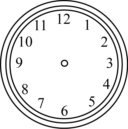 Clock with no hands clipart transparent stock Clock Clip Art - Clock Images transparent stock