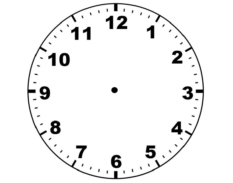Clock without hands clipart black and white image black and white Clip Art Clock Face - Cliparts.co image black and white