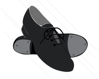 Clogging shoes clipart png black and white library Tap shoes clogging shoes clip art – Gclipart.com png black and white library