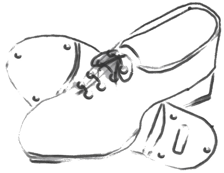 Clogging shoes clipart image black and white Tap shoes images about dance on dance photos big bows clip art ... image black and white