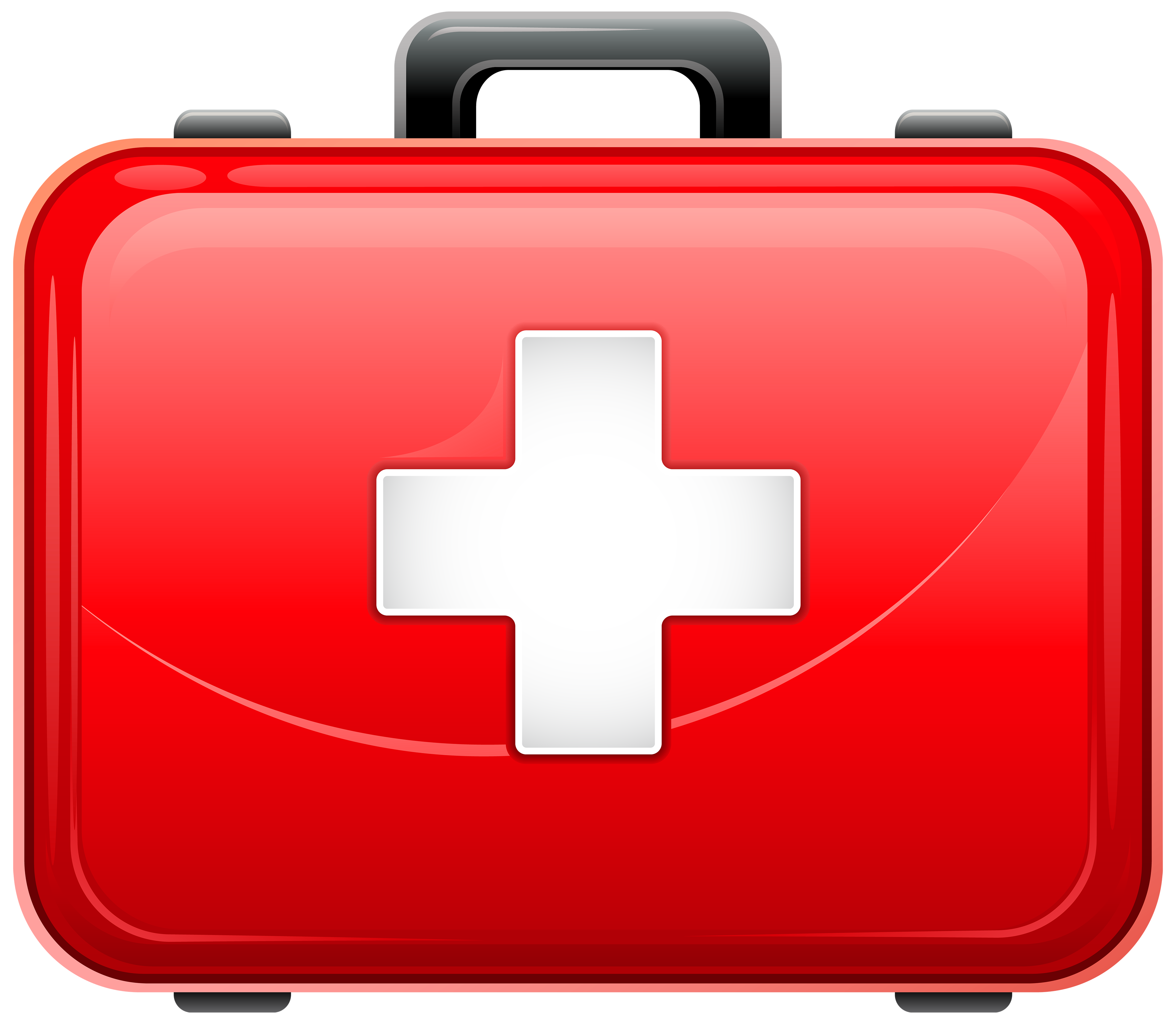 Closed black medical bag with red cross clipart image black and white library Red Medical Bag PNG Clipart - Best WEB Clipart image black and white library