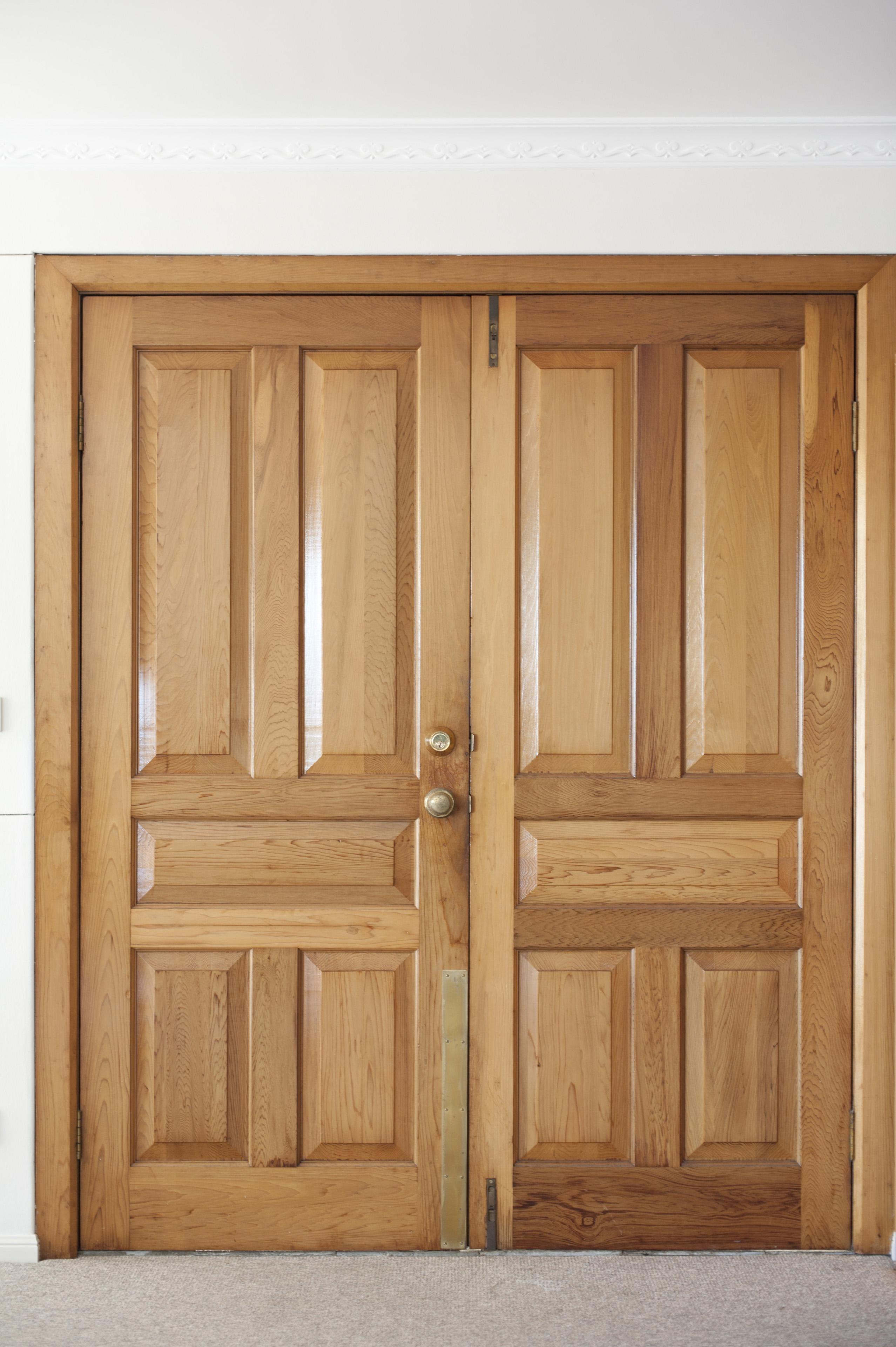Closed double door clipart clip download Wooden double door clipart - ClipartFest clip download