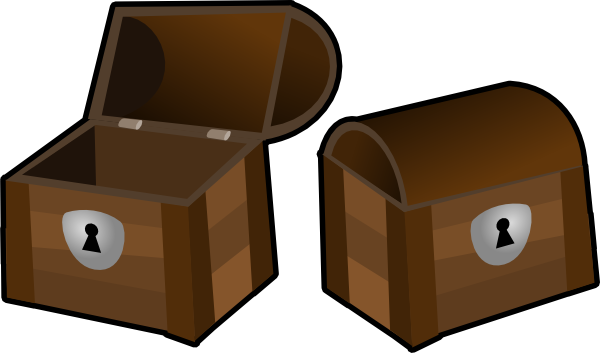 Closed treasure chest clipart svg royalty free stock Treasure Chests Clip Art at Clker.com - vector clip art online ... svg royalty free stock