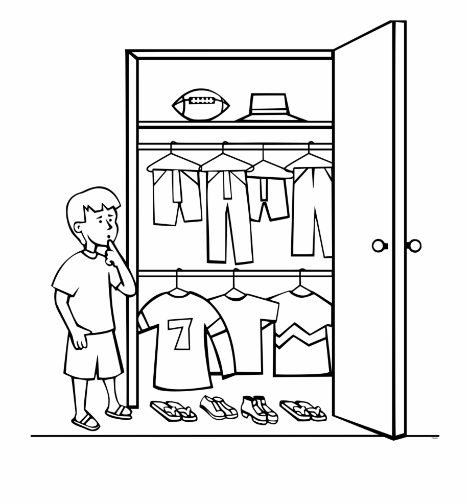 Closet clipart black and white picture royalty free stock Drawing Door Closet - Closet Clipart Black And White Free PNG Images ... picture royalty free stock