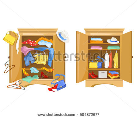 Closet filled with food clipart vector black and white stock Closet Stock Images, Royalty-Free Images & Vectors   Shutterstock vector black and white stock