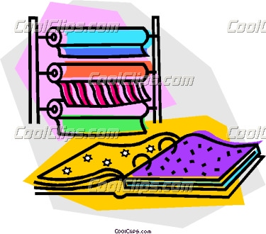 Cloth material clipart clip art library download material at a fabric store   Clipart Panda - Free Clipart Images clip art library download