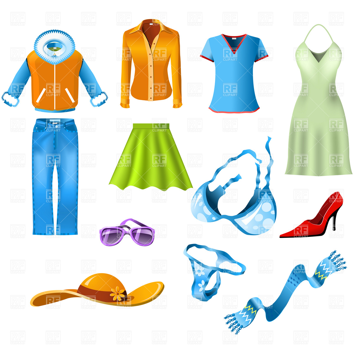 Clothes clipart free clipart royalty free Clothes Clip Art | Clipart Panda - Free Clipart Images clipart royalty free