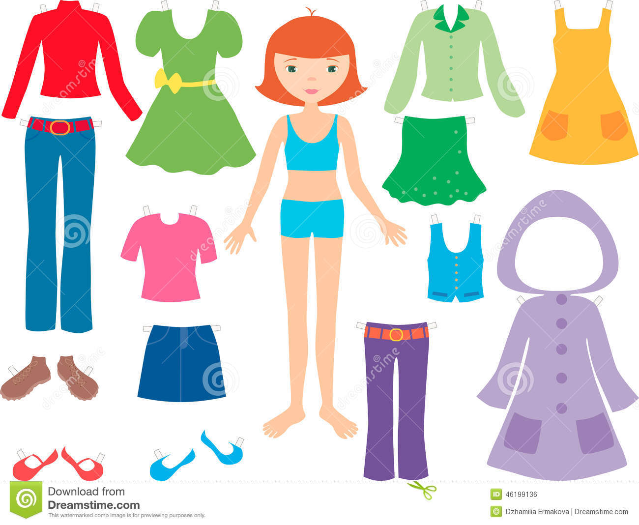 Clothes girls clipart image free library Clothes for girls clipart 9 » Clipart Station image free library