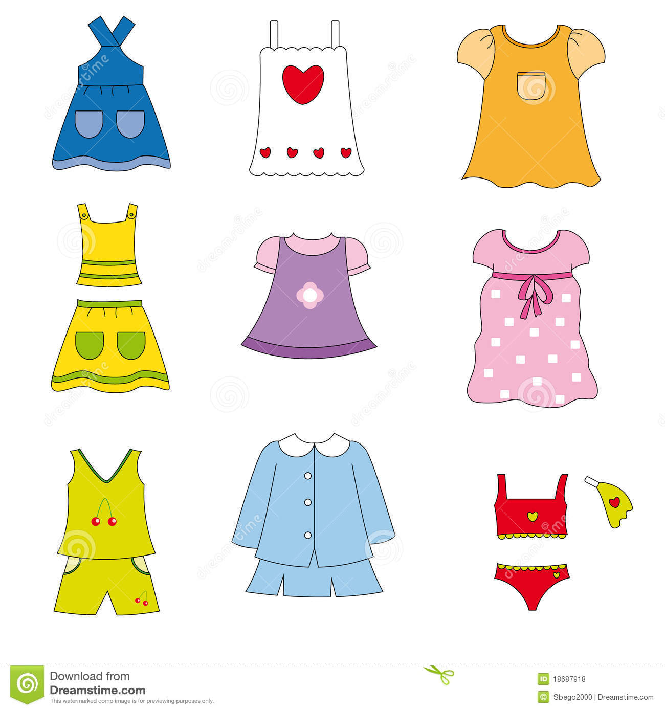 Clothes girls clipart svg freeuse Clothes for girls clipart 5 » Clipart Station svg freeuse