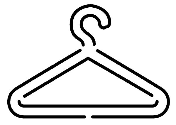 Hanger clipart vector vector library stock hanger clipart | Logo Yorkshire Hanger clip art - vector clip art ... vector library stock