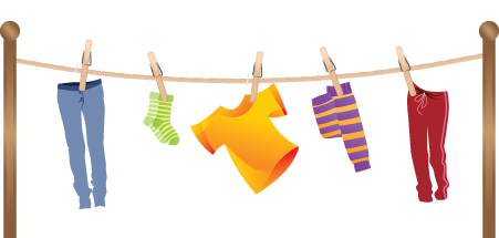 Clothes on clothesline clipart png library library Clothesline Cliparts | Free download best Clothesline Cliparts on ... png library library