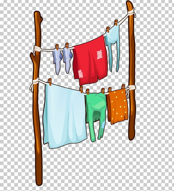 Clothes on clothesline clipart vector transparent library Clothes Hanger Clothes Line Clothing Stock Photography PNG, Clipart ... vector transparent library