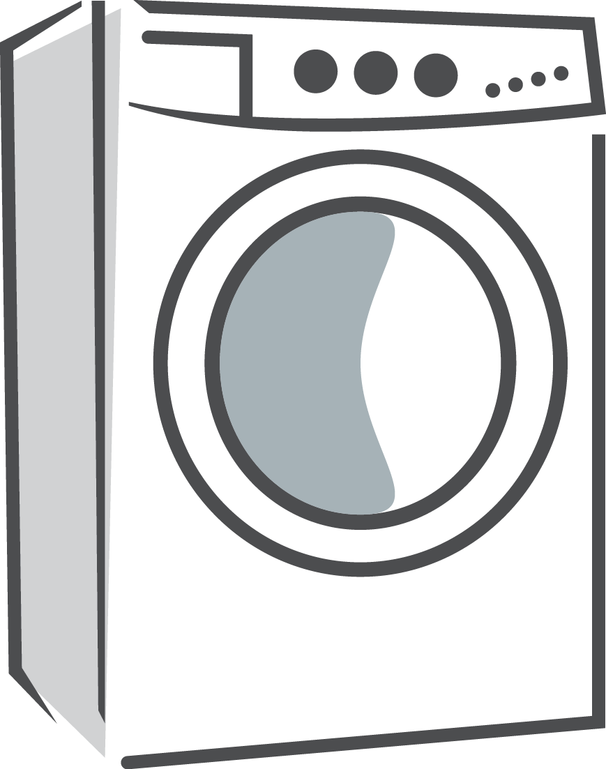 Washing machine clipart picture library Washing Machine clipart - Black, Product, Line, transparent clip art library