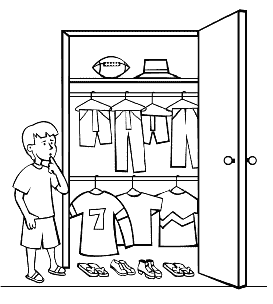 Clothing donation for kids clipart black and white picture free library The First Commandment: Keeping Children\'s Clothing Under Control picture free library