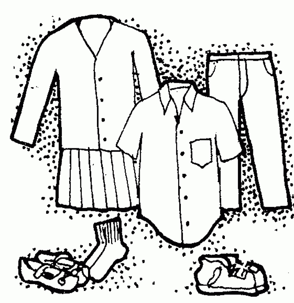 Clothing donation for kids clipart black and white banner library Free School Clothes Cliparts, Download Free Clip Art, Free Clip Art ... banner library