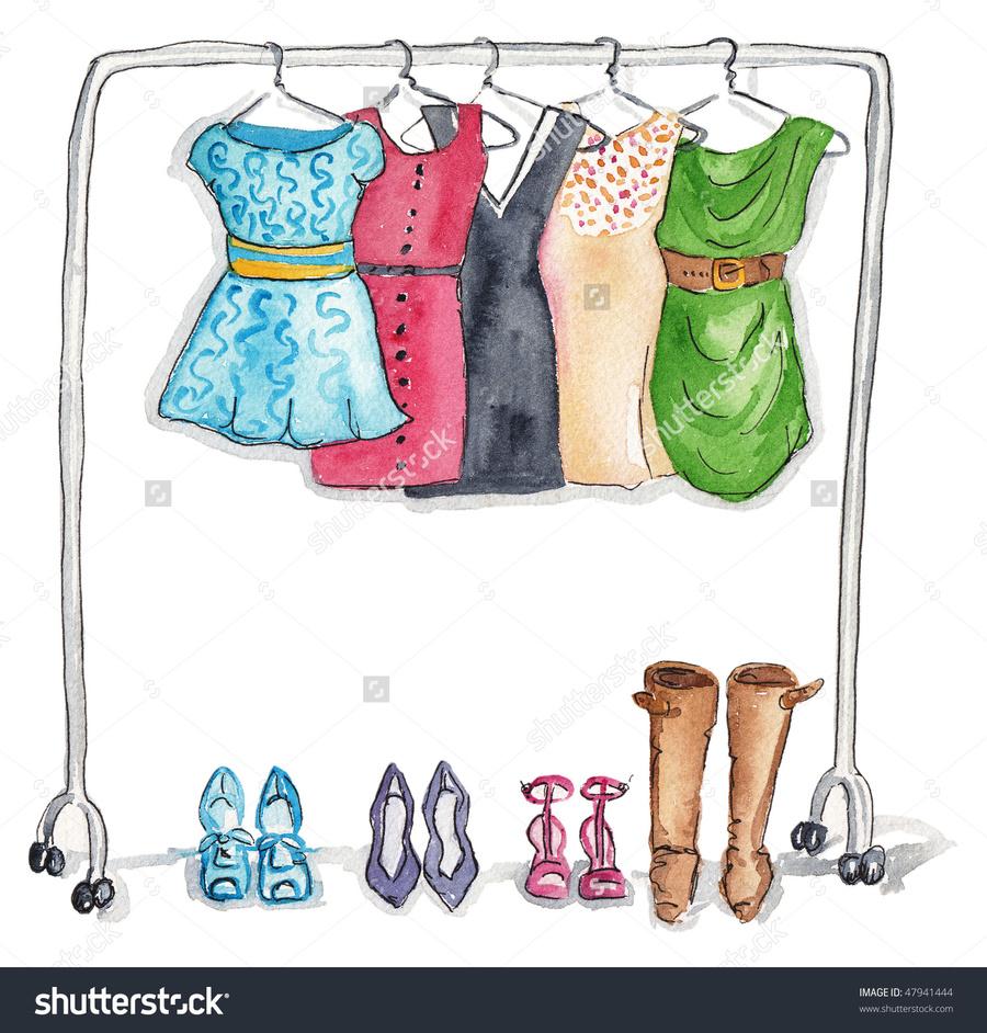 Clothing rack clipart image freeuse stock Download clothing rack clip art clipart Clothing Clip art | Clothing ... image freeuse stock