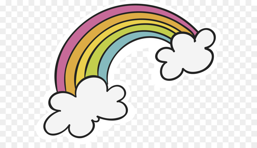 Cloud and rainbow clipart clip transparent library Rain Cloud Clipart png download - 2928*2283 - Free Transparent ... clip transparent library