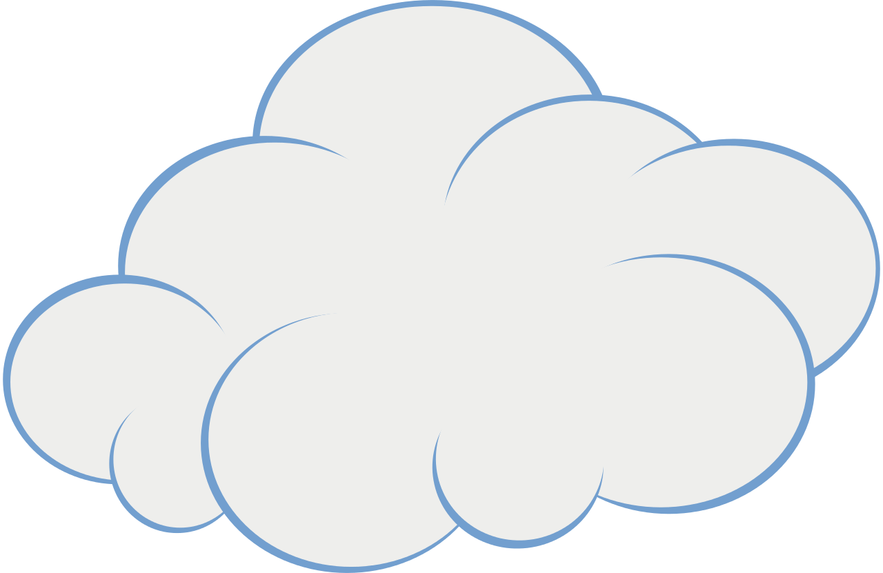 Cloud and snowflake clipart freeuse download Cute Cloud Clip Art | Original file (SVG file, nominally 151 × 98 ... freeuse download