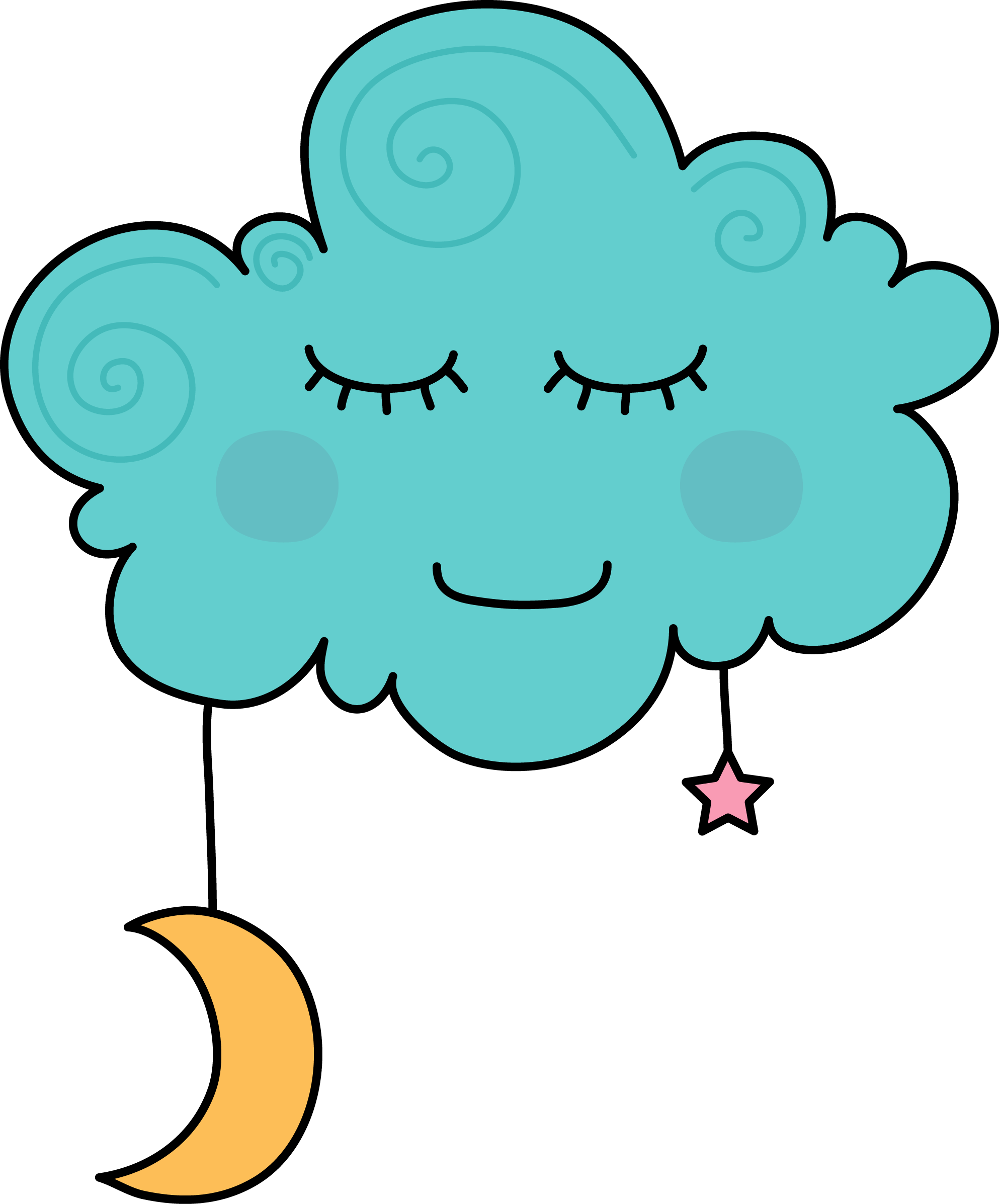 Cloud and snowflake clipart picture freeuse download Dreaming Clipart Cloud Cartoon | jokingart.com Cloud Clipart picture freeuse download