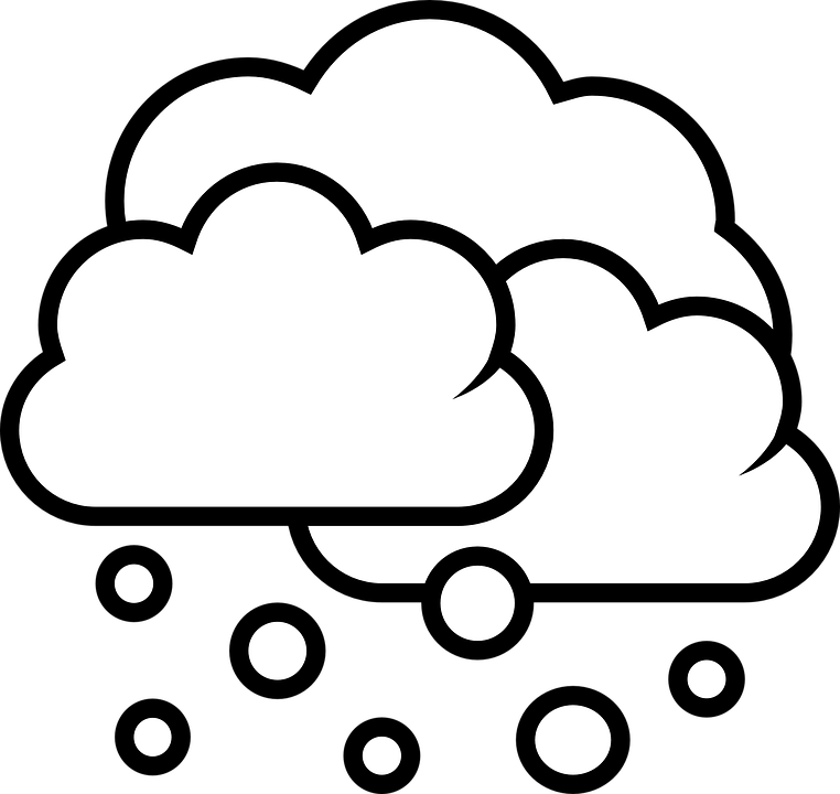 Snowflake cloud clipart png royalty free library Snow Cloud PNG Black And White Transparent Snow Cloud Black And ... png royalty free library