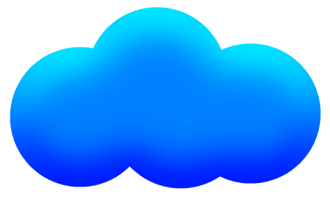 Cloud blue clipart picture black and white Free Cartoon Images Of Clouds, Download Free Clip Art, Free Clip Art ... picture black and white