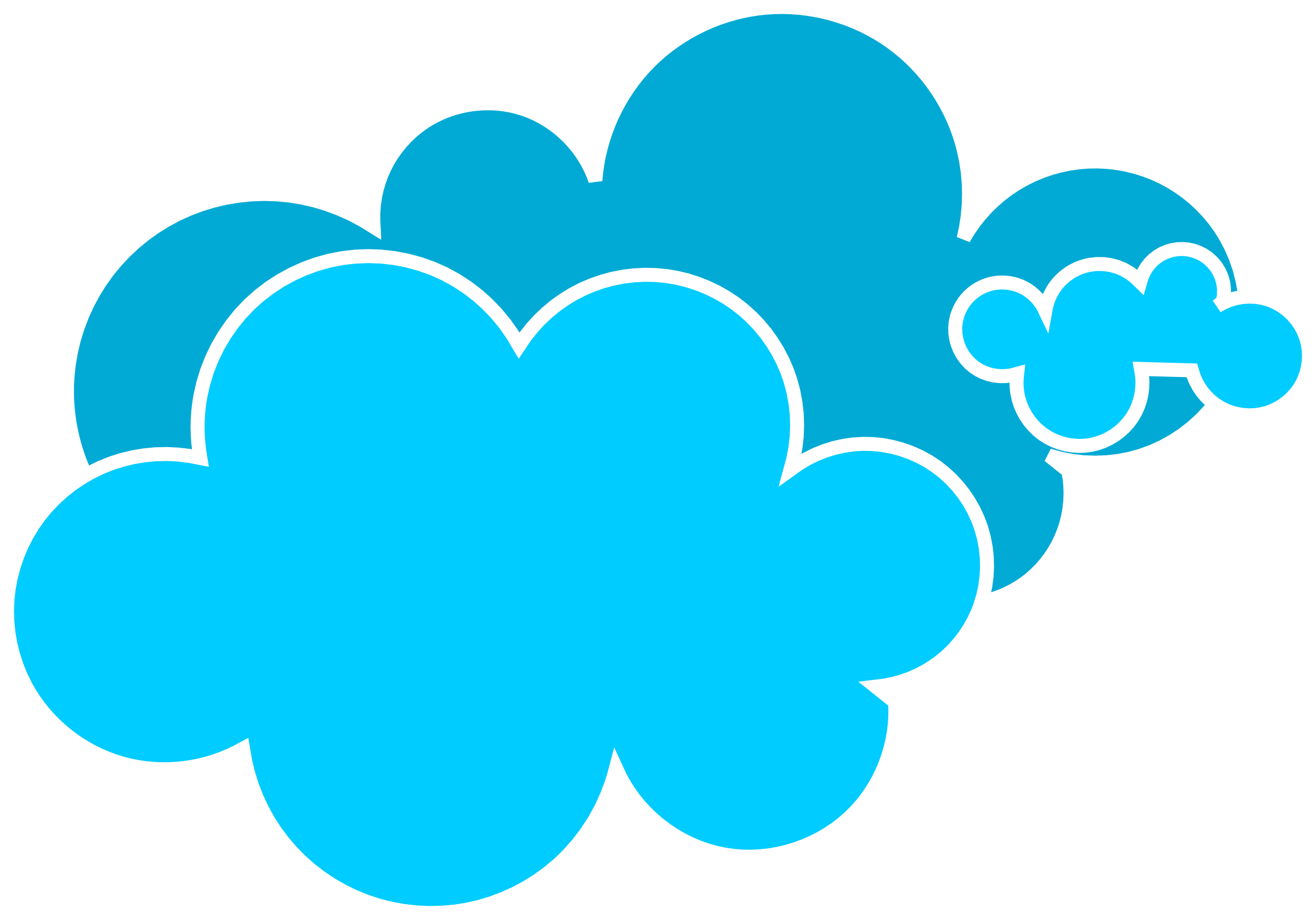 Cloud blue clipart svg royalty free stock Rain cloud blue cloud clipart - WikiClipArt svg royalty free stock