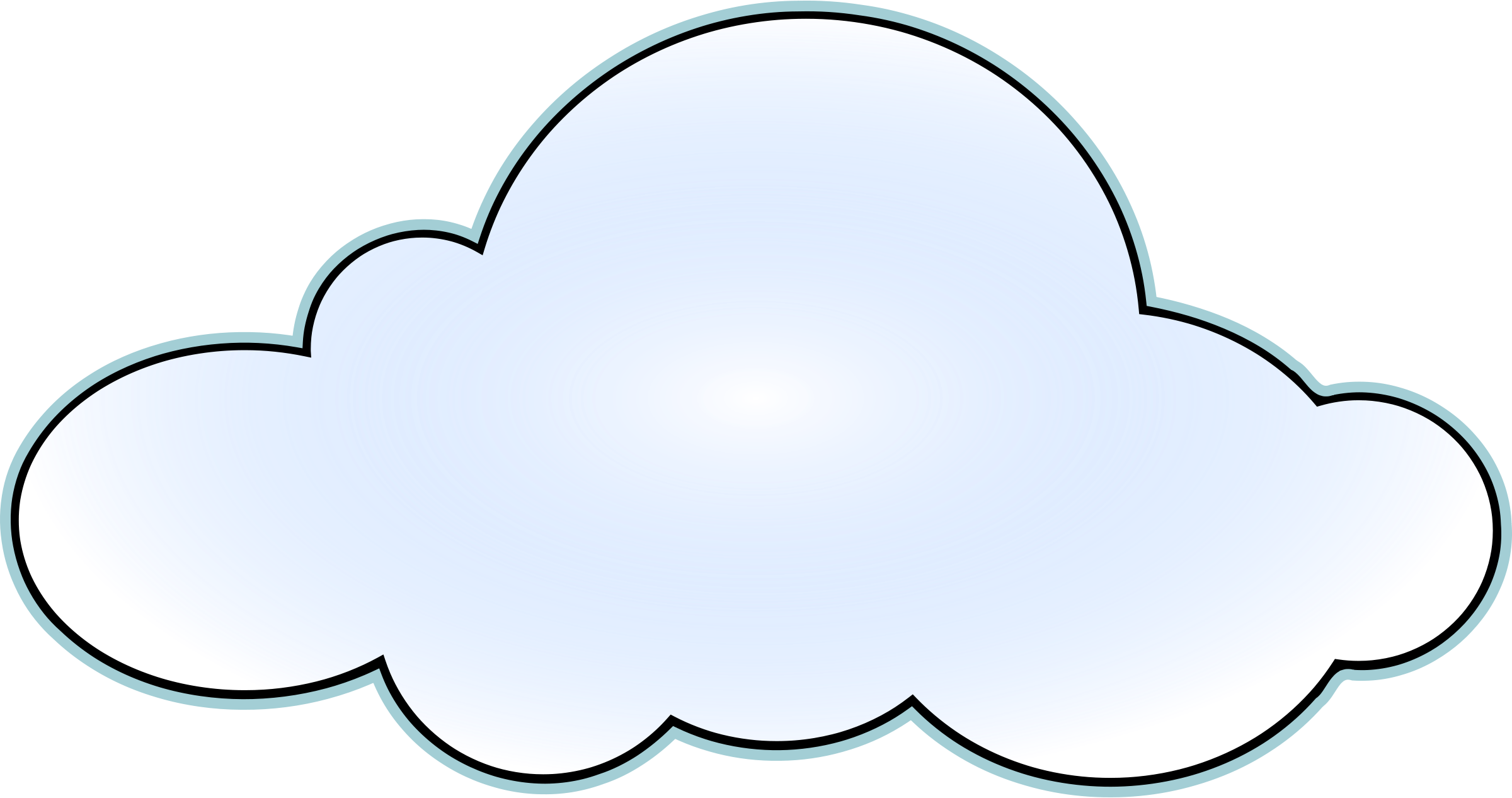Cloud clipart transparent png free library Cloud Clipart - Free Transparent PNG Logos png free library