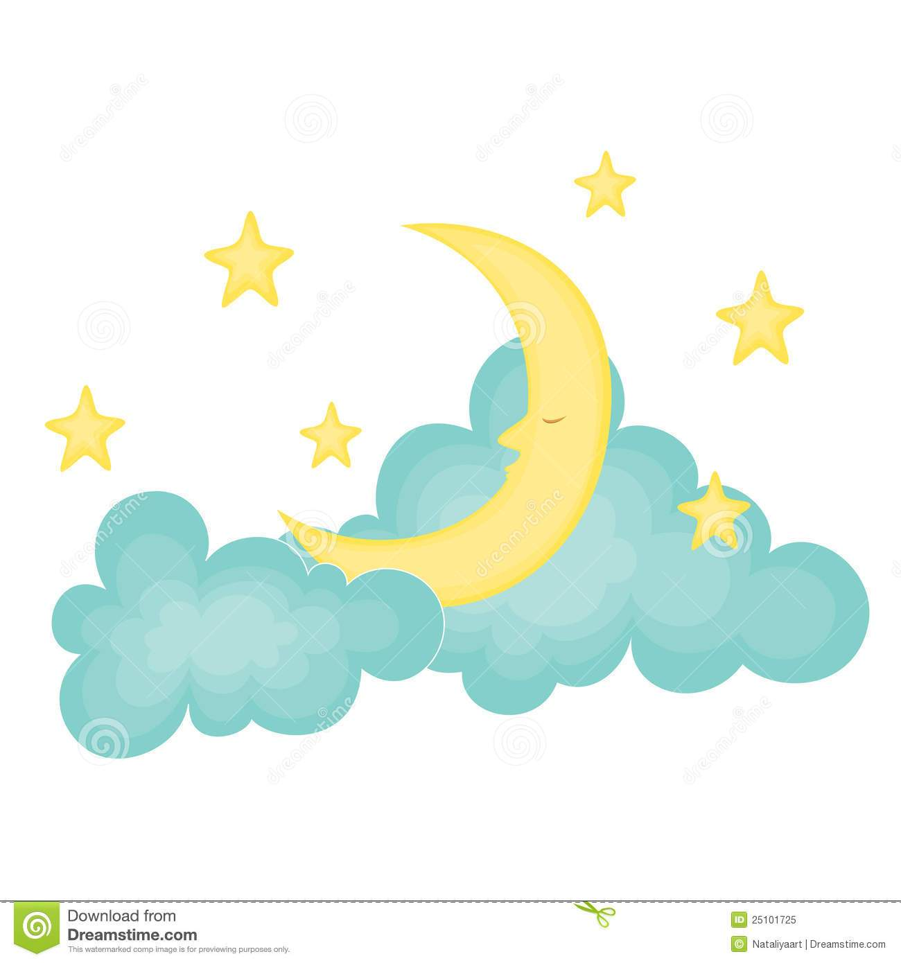 Cloud moon clipart banner free Moon and clouds clipart 1 » Clipart Portal banner free