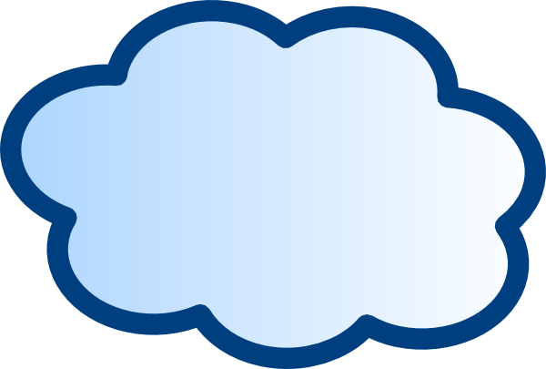 Cloud network clipart clip art library stock Network Cloud Clip Art at Clker.com - vector clip art online ... clip art library stock