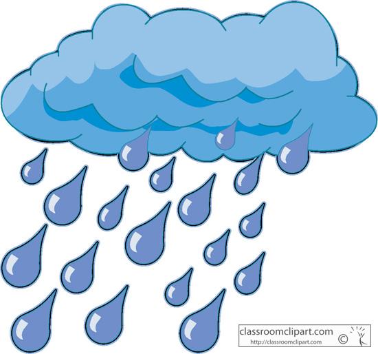 Cloud rain clipart vector transparent library Rain cloud rain clipart - WikiClipArt vector transparent library
