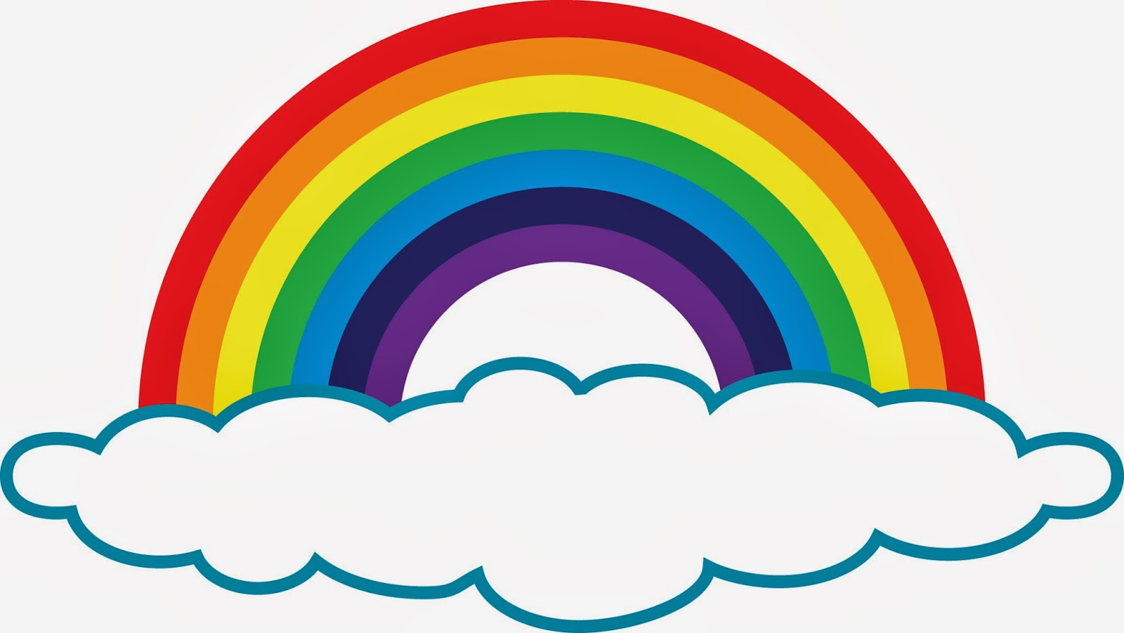 Rainbow and clouds clipart download Free Images Of A Rainbow, Download Free Clip Art, Free Clip Art on ... download