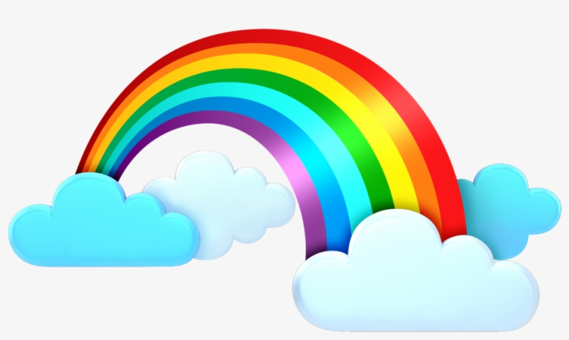 Cloud with rainbow clipart banner free download Rainbow Clipart Weather - Clouds Rainbow Png Clipart Transparent PNG ... banner free download