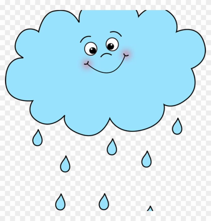 Rainy clouds clipart jpg Clip Art Rain - Happy Rain Cloud Cartoon, HD Png Download ... jpg