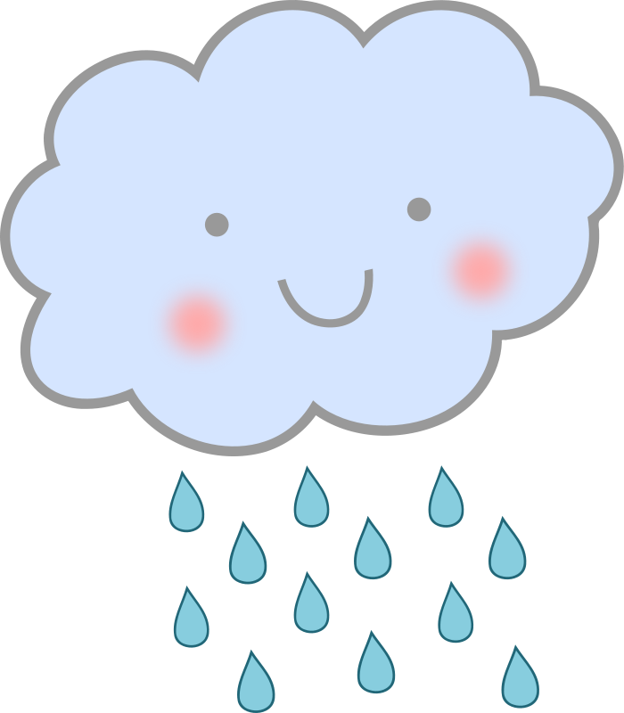 Clouds animated clipart png freeuse Animated Rain Clouds | Stickers | Rain clouds, Clouds, Raindrop baby ... png freeuse