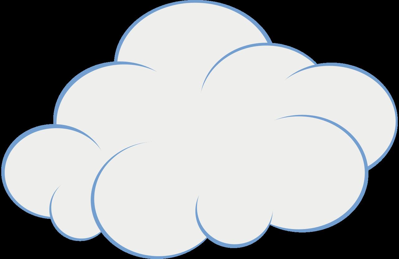 Clouds clipart file clip library stock Cute Cloud Clip Art Original file (SVG file, nominally 151 - Clip ... clip library stock