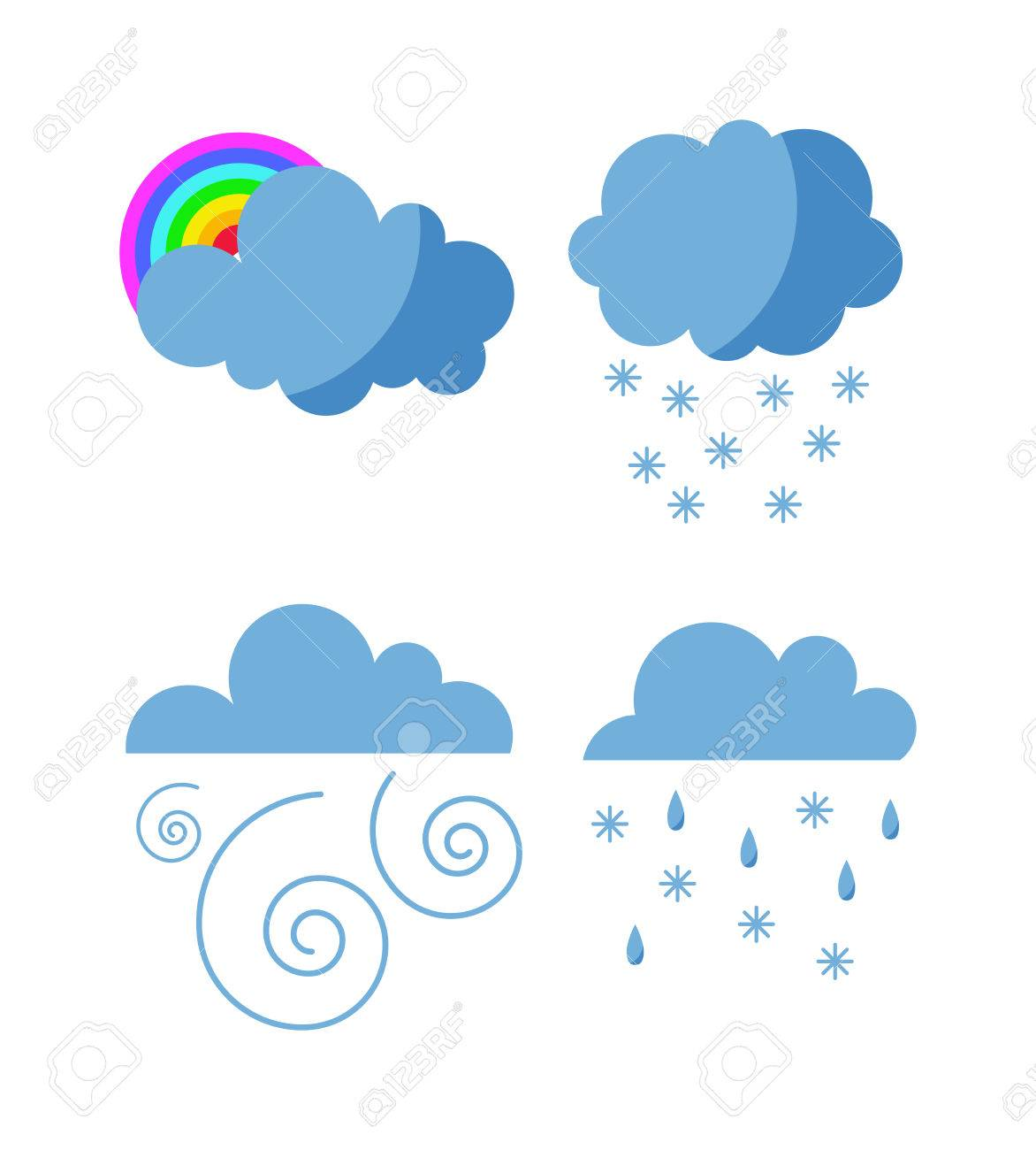 Clouds clipart pack svg library download Thunderstorm clipart cloudy - 132 transparent clip arts, images and ... svg library download