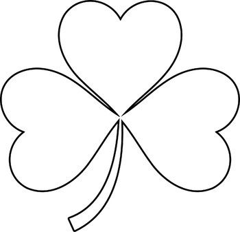 Clover black and white clipart vector transparent stock St. Patrick\'s Day | Fonts, Labels, Borders, and Clipart | Clip art ... vector transparent stock